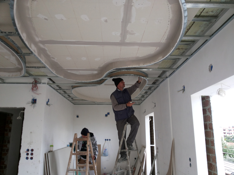 Construction of DryWalls / Plasterwalls